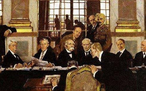 一战的终结后的利益划分,凡尔赛条约内容有哪些?