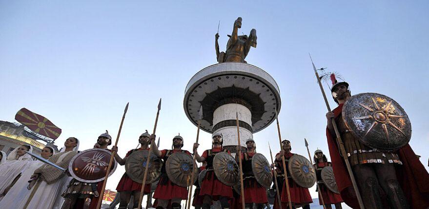 地域与国度,希腊为何反对马其顿共和国国名?