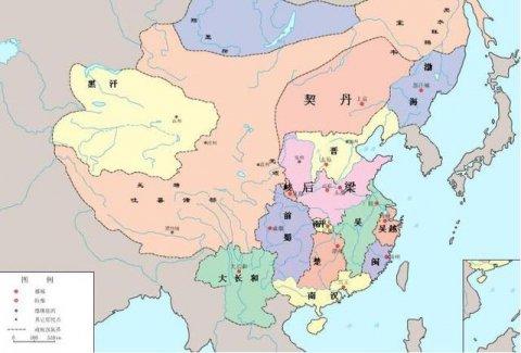 五代十国分别是哪些国家?华夏乱世的时代风云