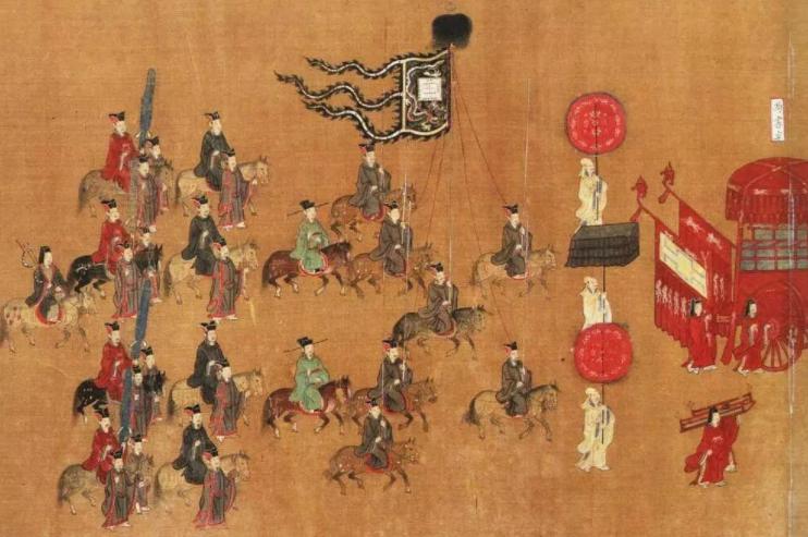 中国古代军旗史:不同军旗各代表什么意义
