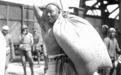 """第二次世界大战为什么协约国及日本对中国劳工""""情有独钟""""?"""