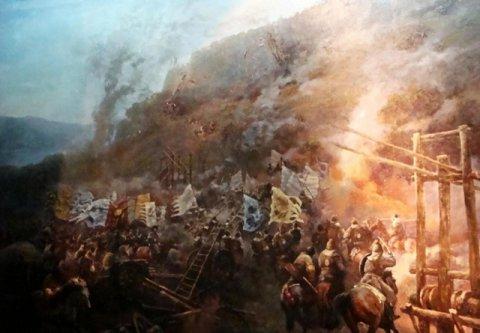 """怒折蒙古帝国的""""上帝之鞭""""南宋钓鱼城最后的倔强"""