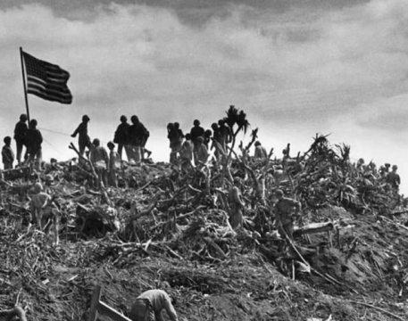 揭秘太平洋战役中最惨烈的硫磺岛战役:2万日军命丧美军枪口
