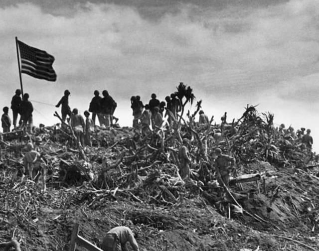 揭秘太平洋战役中最惨烈的硫磺岛战役:2万日军命丧