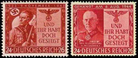 """探索二战期间不为人知的""""伪造邮票""""大战"""