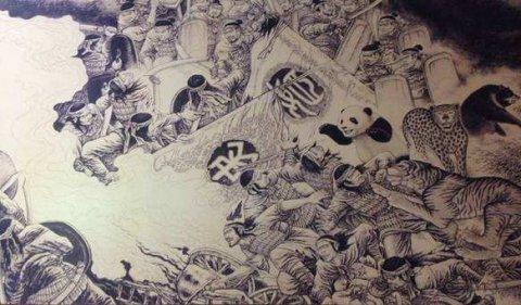 上古传说蚩尤坐骑食铁兽:食铁兽是什么动物?