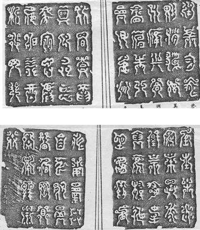 中国八大无法破解的古文字之一夏禹书简介