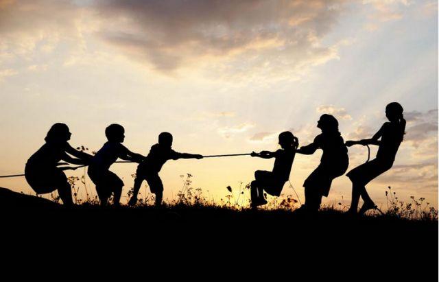 拔河运动的起源,中国古代的传统运动项目牵钩之戏