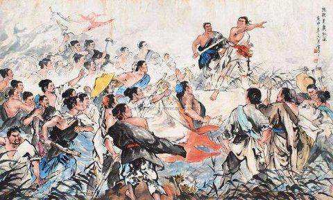 中国历史上第一次农民起义的领袖陈胜吴广最终结局