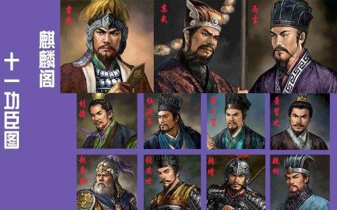 功成画麟阁,西汉麒麟阁十一功臣都有哪些人?