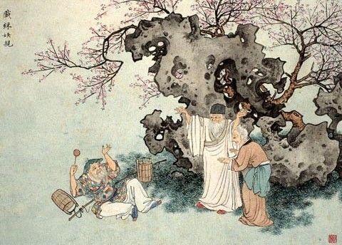 中华传统文化经典《二十四孝》之老莱子戏彩娱亲