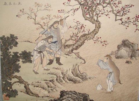 中华传统文化经典《二十四孝》之郯子鹿乳奉亲