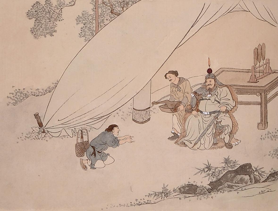 中华传统文化经典《二十四孝》之蔡顺拾葚异器
