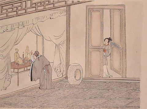 中华传统文化经典《二十四孝》之丁兰刻木事亲