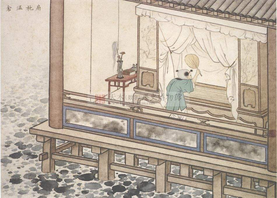 中华传统文化经典《二十四孝》之黄香扇枕温衾
