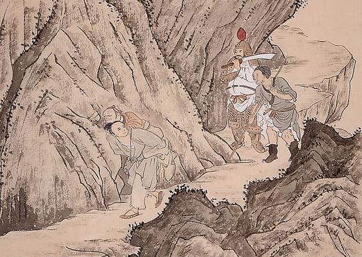 中华传统文化经典《二十四孝》之江革行佣供母