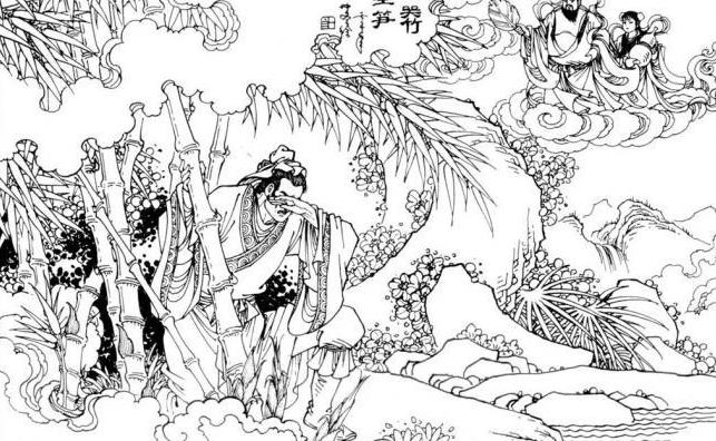 中华传统文化经典《二十四孝》之孟宗哭竹生笋