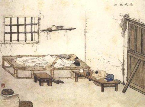 中华传统文化经典《二十四孝》之吴猛恣蚊饱血