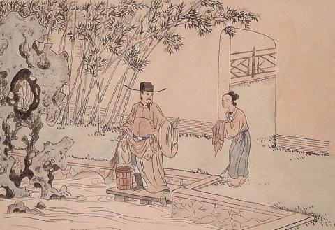 中华传统文化经典《二十四孝》之黄庭坚涤亲溺器