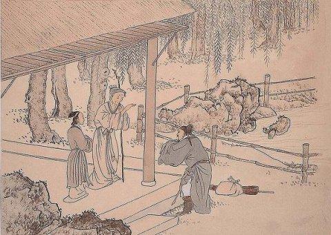 中华传统文化经典《二十四孝》之朱寿昌弃官寻母