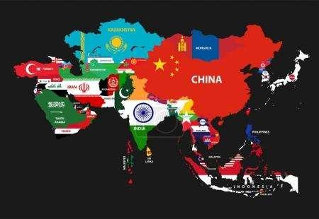 万国汇:现代亚洲一共有几个国家?分别是哪些