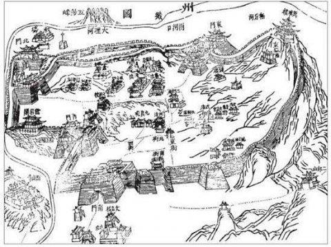 中国古代是从什么时候开始出现城市的?