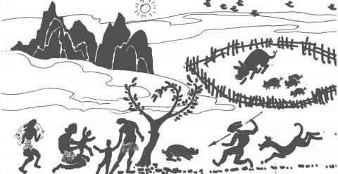 中国原始社会时的上古先民是居巢还是住洞?