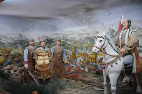 唐朝到五代时期党项族人的分布情况及迁徙路线