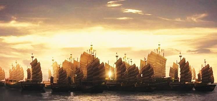 中国古代历史上对海洋都有哪些探索?