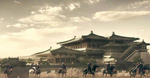 唐代长安城中的宫殿建筑主要有哪些?