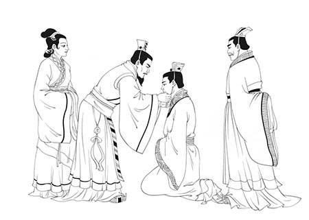 """中国古代的""""成人礼""""是什么样的?"""
