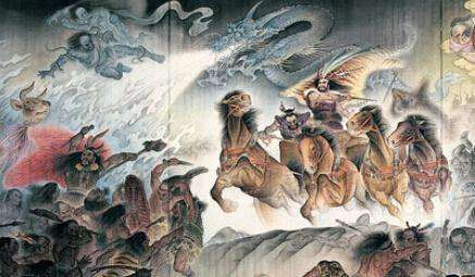 上古大战涿鹿之战中蚩尤军的主力有哪些?